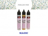 "Permatomi skysti perlai Viva Decor ""Perlen-Pen Magic"" 25 ml."