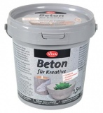 "Dekoratyvinis betonas Viva Decor ""Concrete for Creatives"" 1,5 kg."