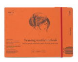 "Siūtas eskizavimo albumas ""Mixed Media"" AUTHENTICBOOK A5, 18 lapų, 200 gr."